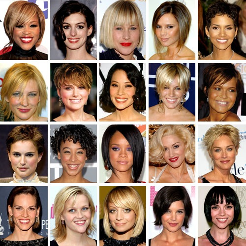 Celebrity Short Hair Styles 2010-2011 Hairstyles, Prom Hairstyles,